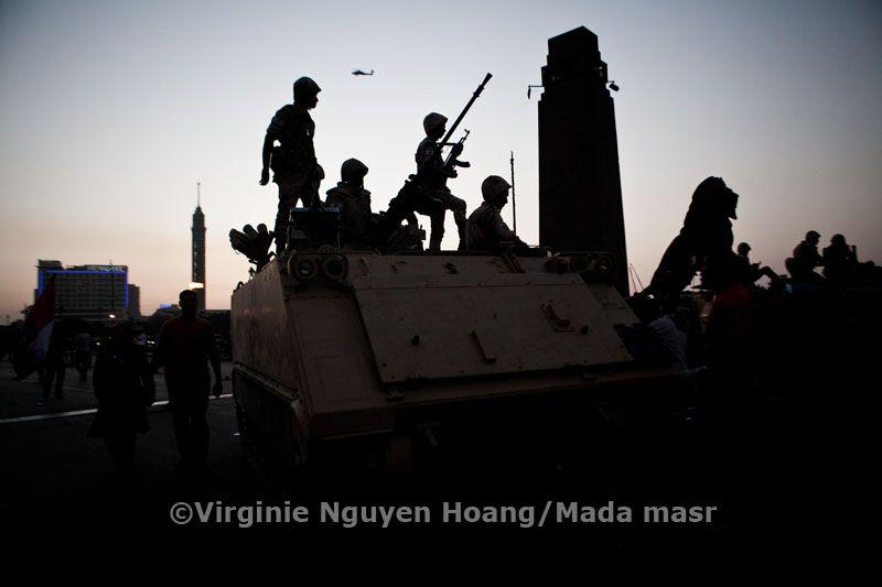 25 Jan clashes near Tahrir