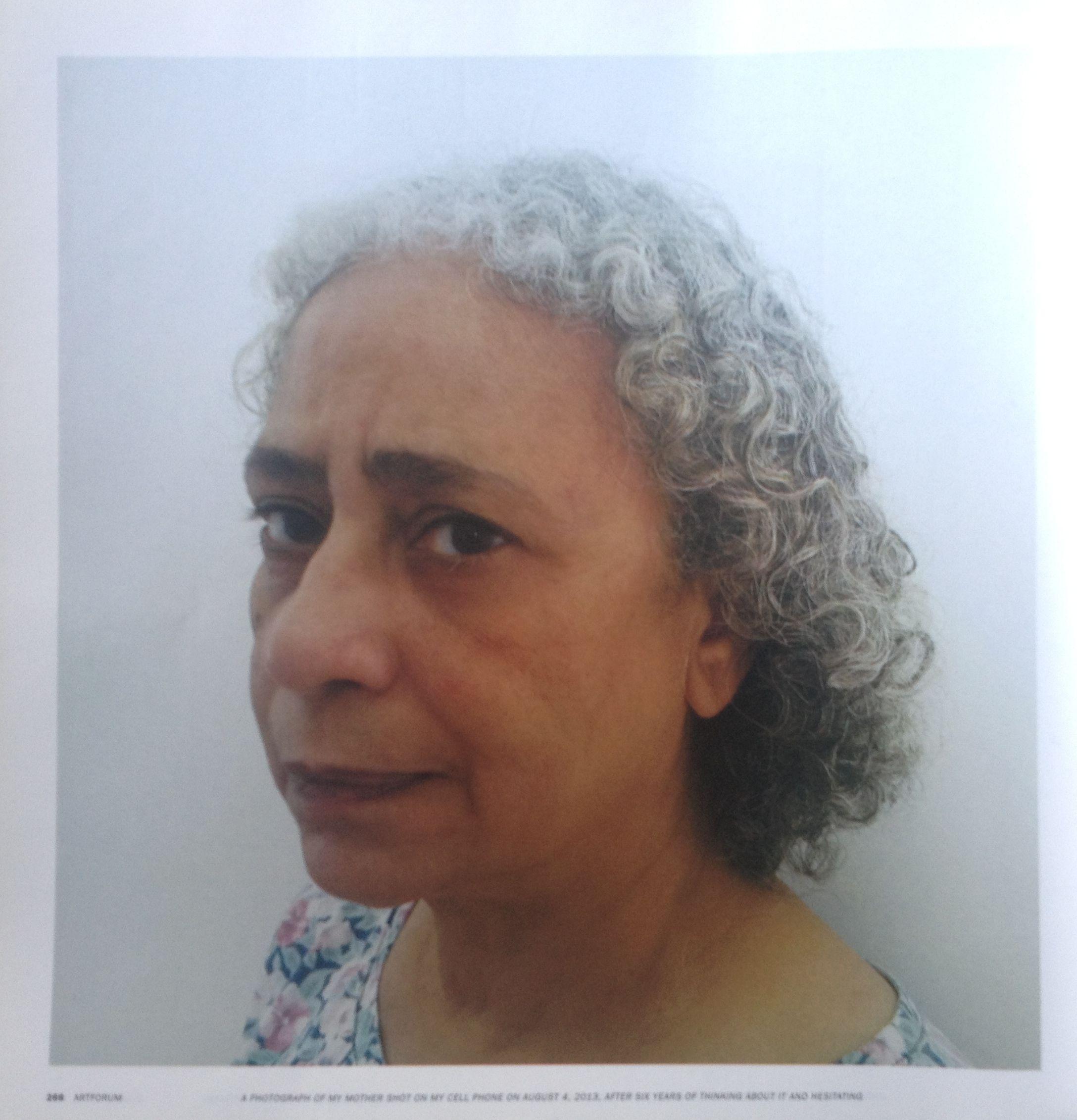 صورة من صفحة مجلة ArtForum لسلسلة حسن خان Trusted Sources