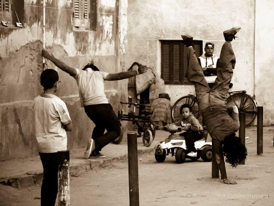 أحد عروض مهرجان نسيم الرقص