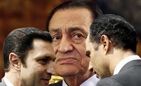 Hosni, Gamal, Alaa Mubarak