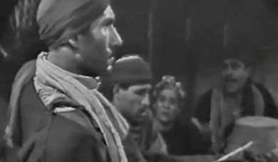 A shot from the first Egyptian Tv series ever..jpg