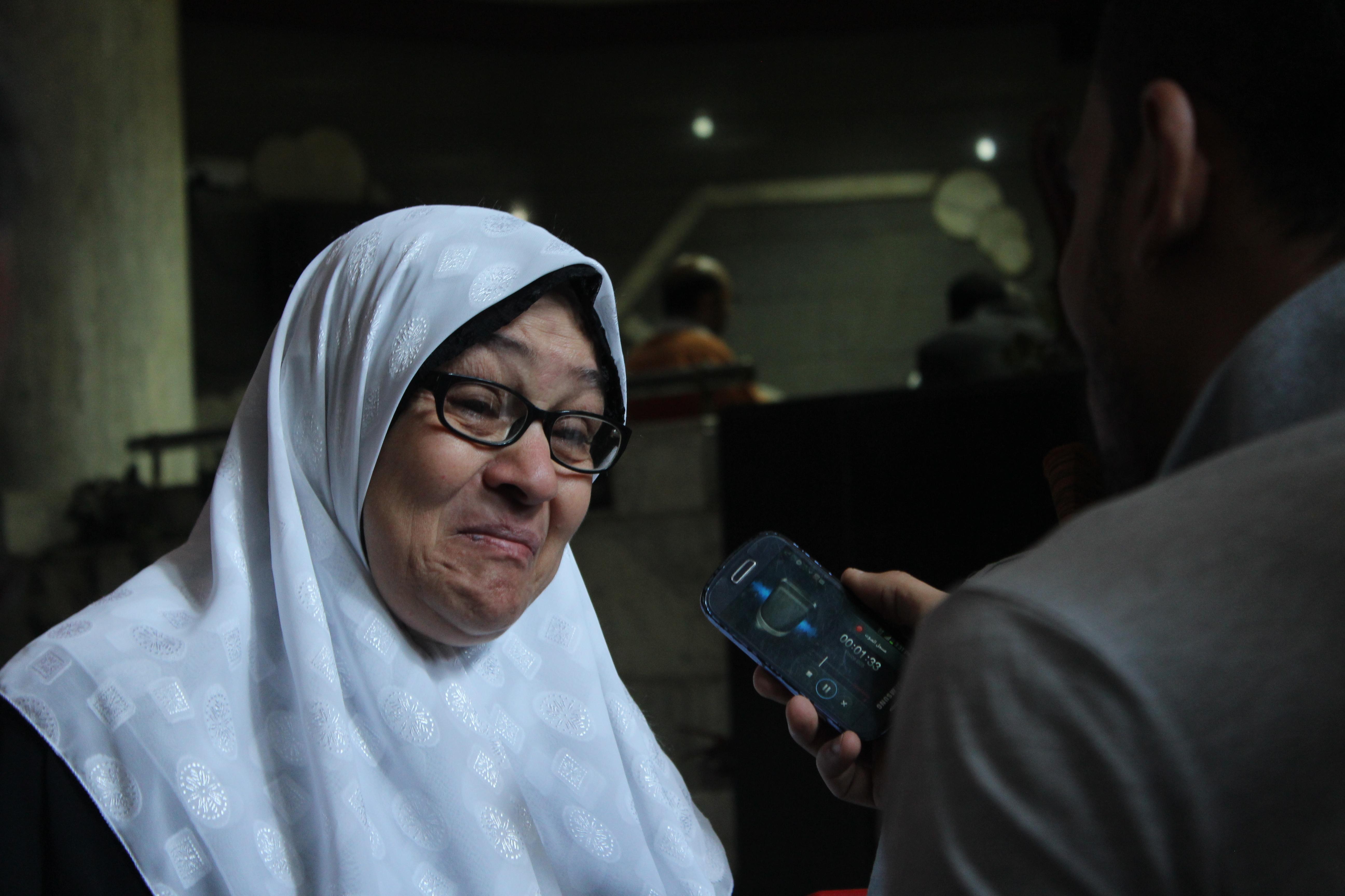 والدة المصور الصحفي محمود شوكان
