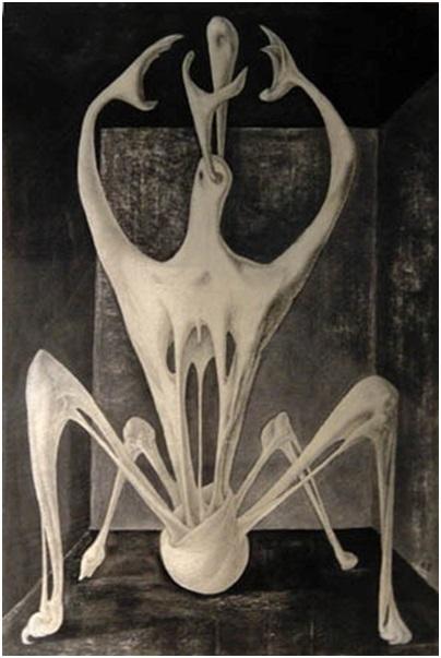 رمسيس يونان (1913-1966)، جسم، المصدر: المتحف الفن المصري الحديث