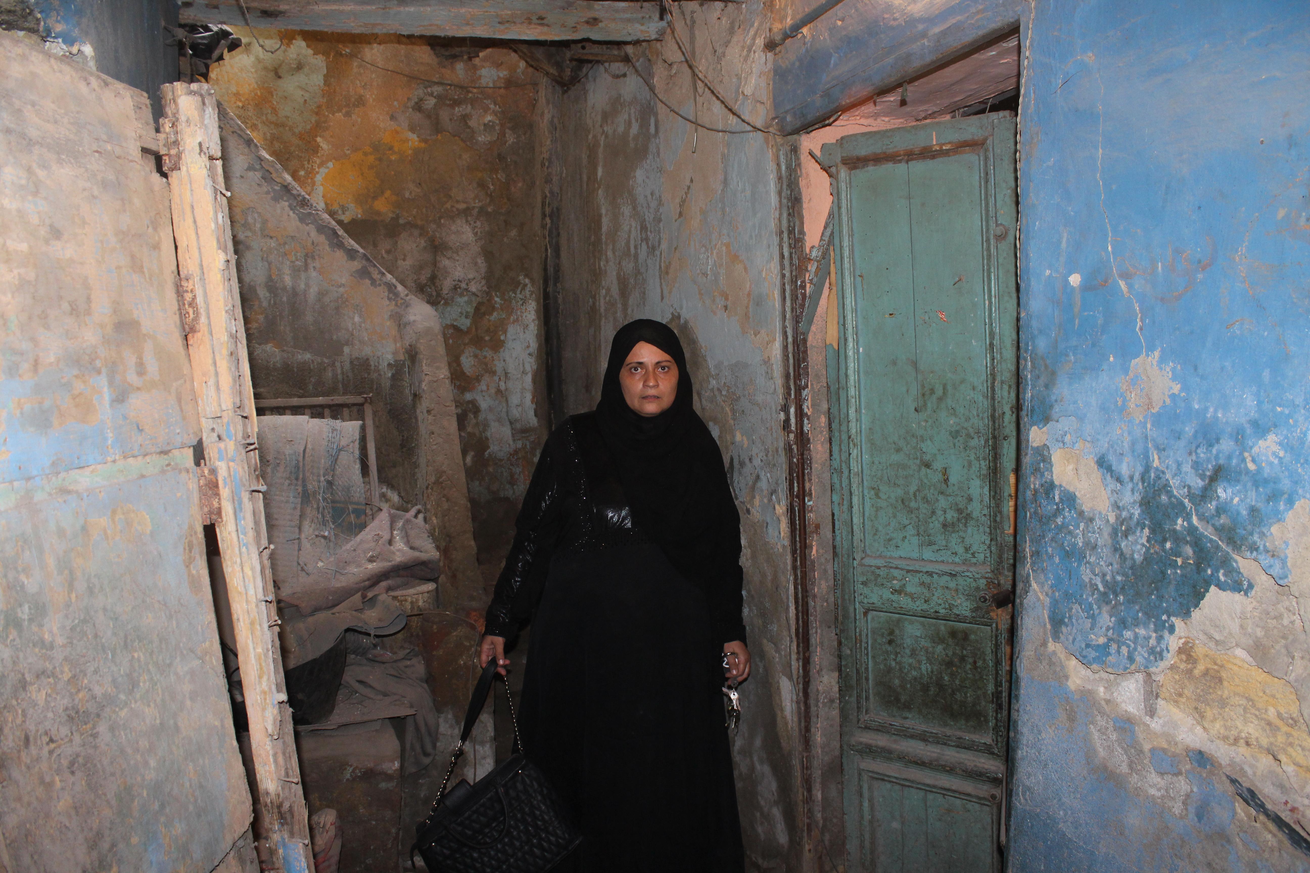 السيدة أمال محمد أحد سكان مثلث ماسبيرو