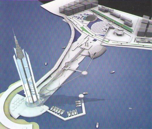 Pharos Hotel rendering