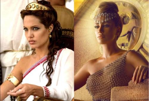 Maya Diab video still - Angelina Jolie