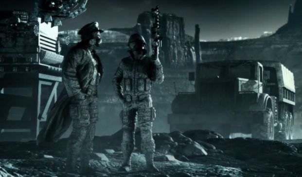 Maya Diab video still - CGI dystopia