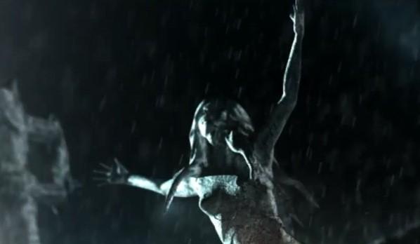 Maya Diab video still - lone woman