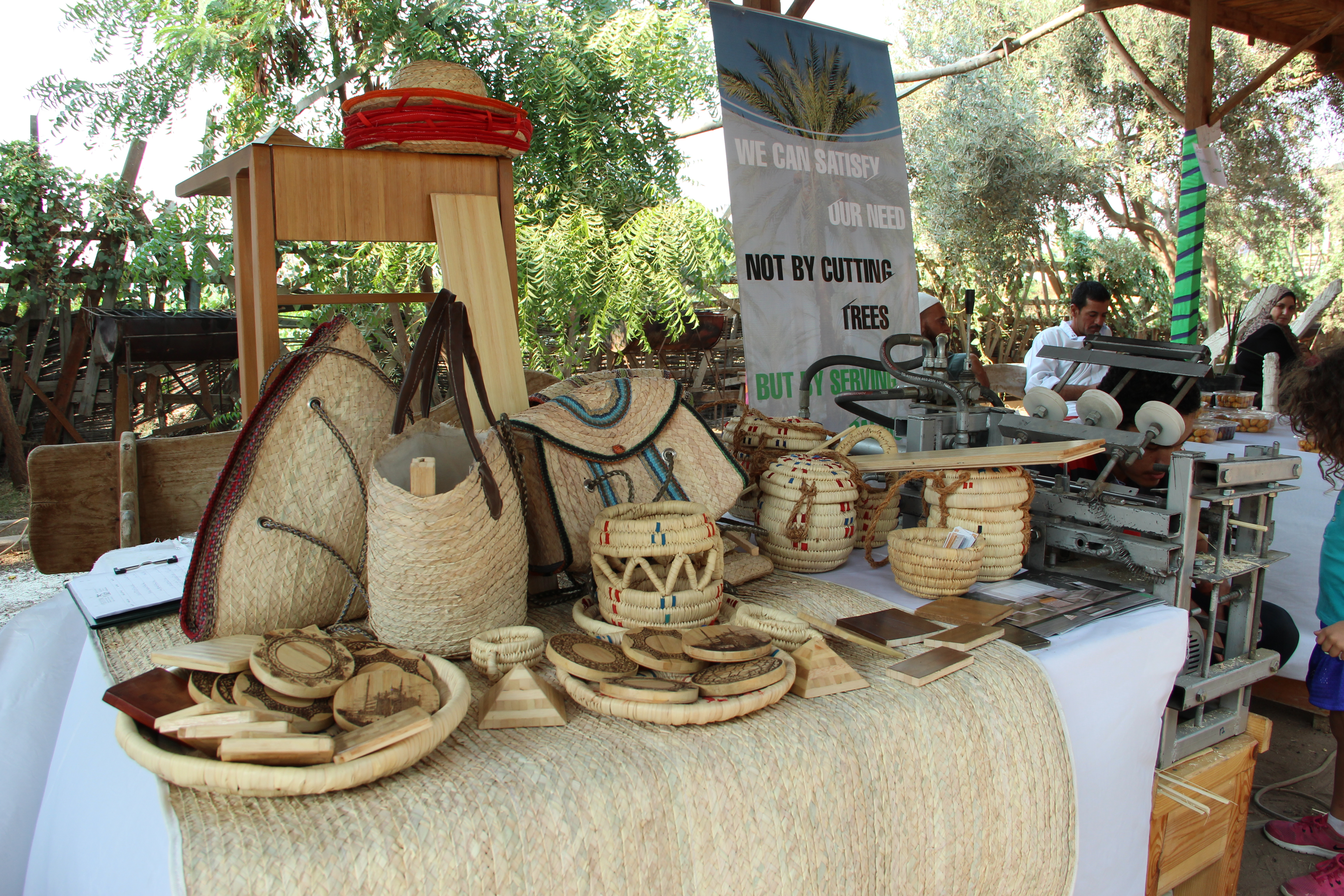 Date palm tree products