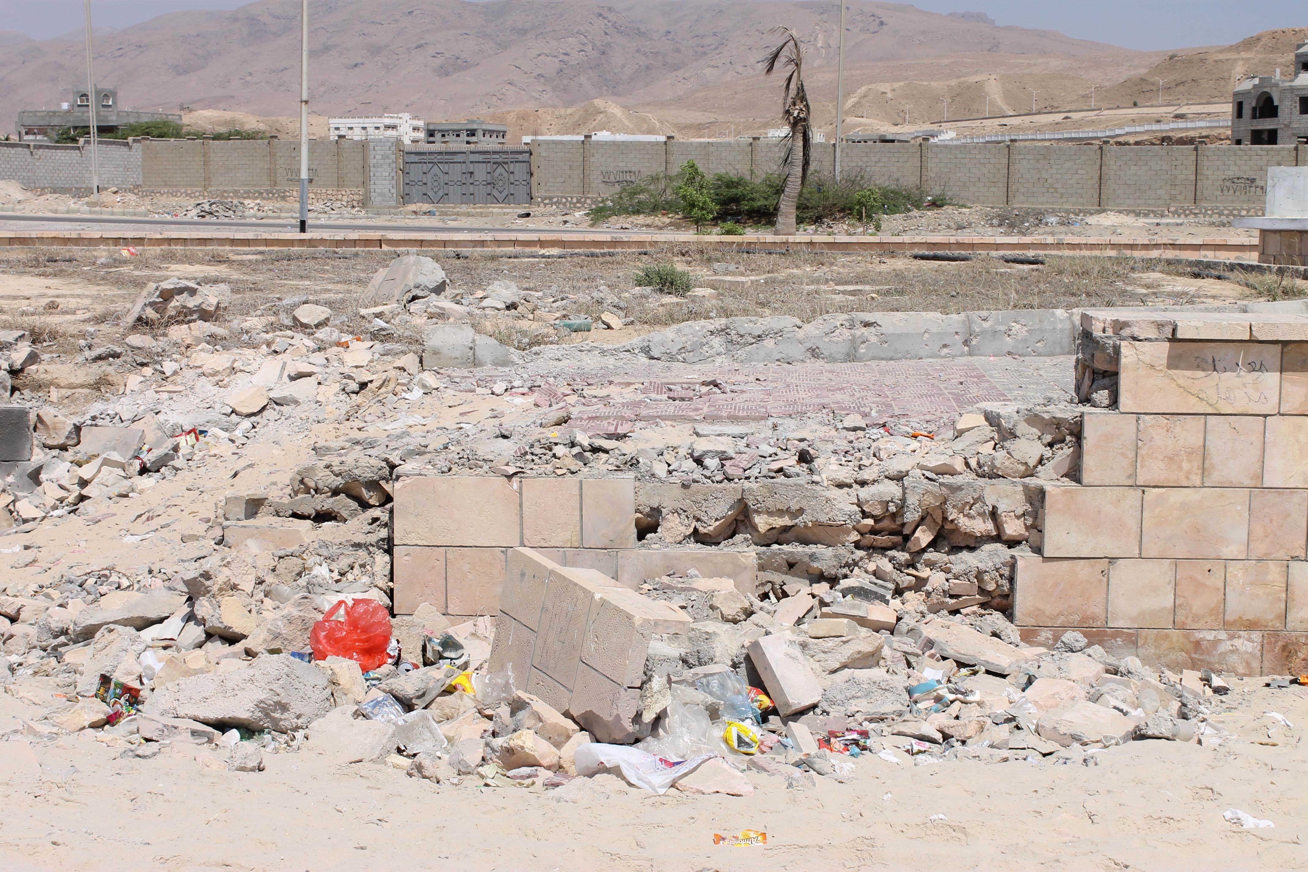 The cornish in Mukalla, Yemen, where Mohannad Ghallab was killed