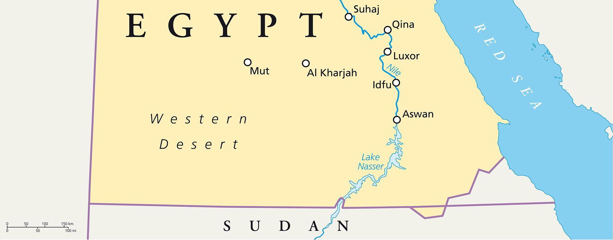 Egypt And Sudan Inaugurate New Border Crossing MadaMasr - Map of egypt and sudan