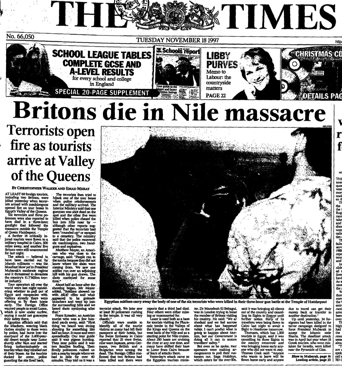 The Times, November 18, 1997