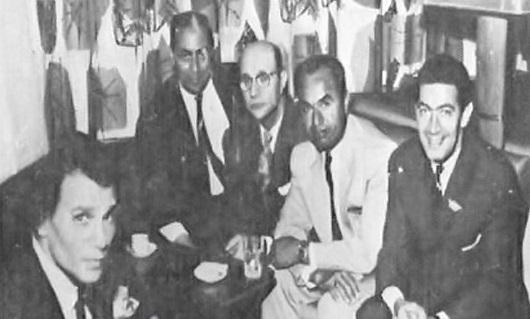 منير مراد ومحمد عبد الوهاب
