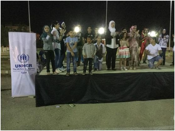 فريق سوريانا في حفل المفوضية