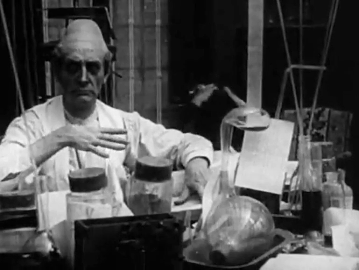 The Madness of Doctor Tube by Abel Gance, 1915.png