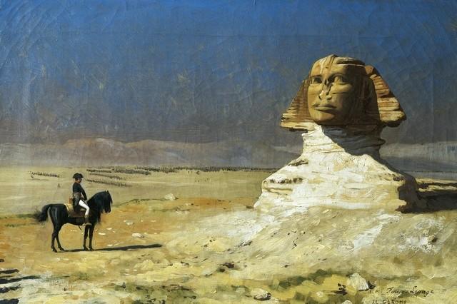 Bonaparte in Egypt by Jean-Leon Gerome, 1867.jpg