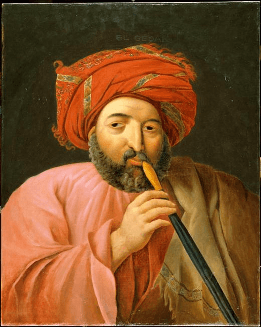 Jirjis al-Gohari, Egypt's only Coptic minister of finance, by Michel Rigo.png