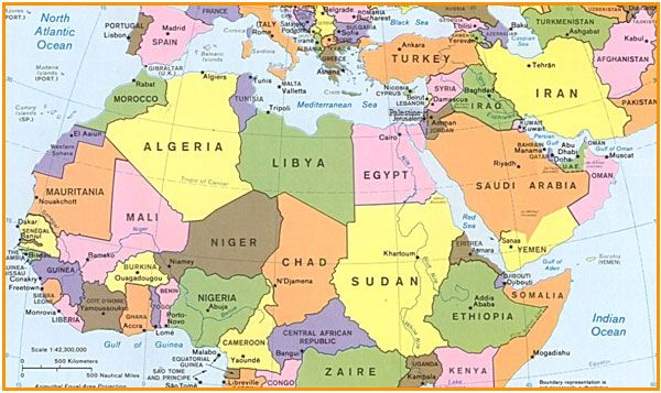 June Years On A Changing Regional Map MadaMasr - Map of egypt libya
