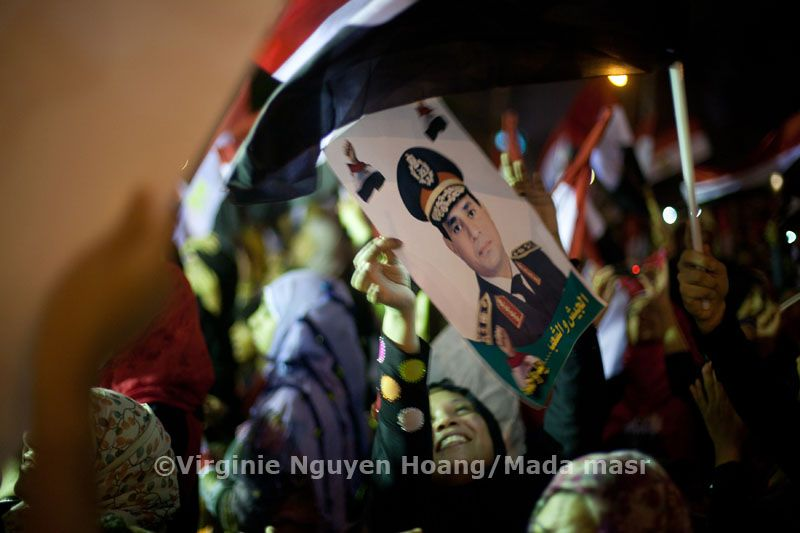 Anti Morsi, pro Sissi