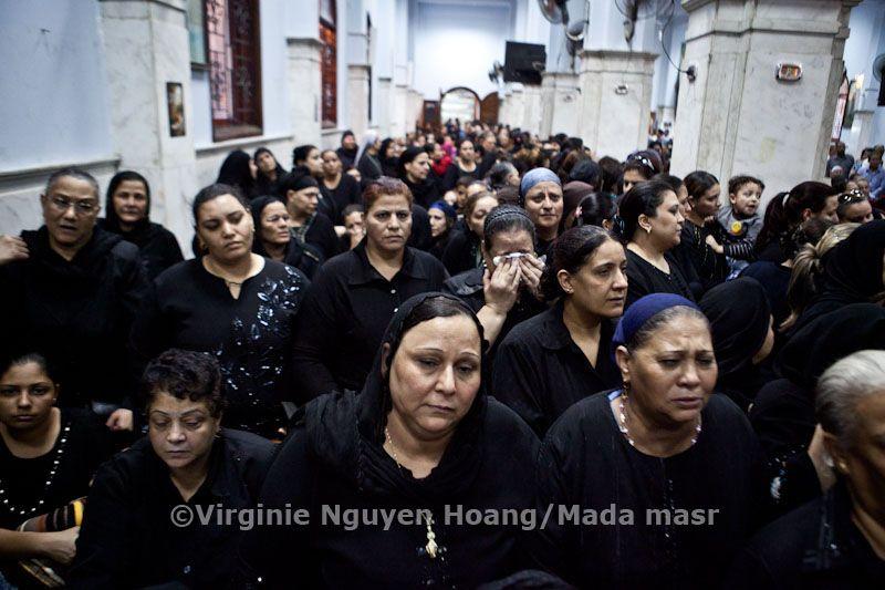 Funeral after coptics