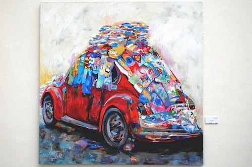 Ahmed Talal artwork