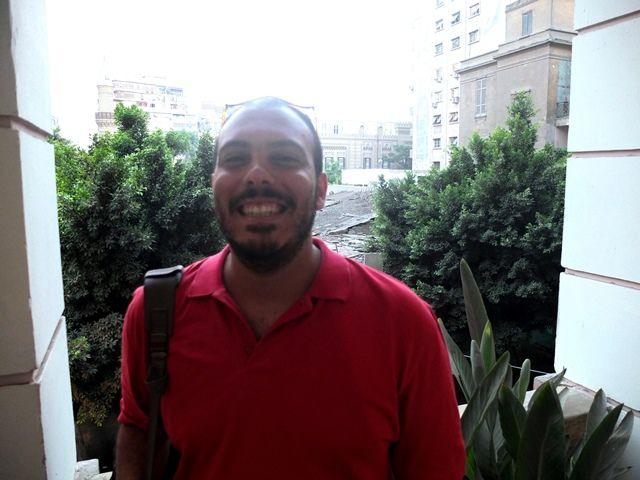 Ahmed Sameh Hussein — incubator manager at Nahdet el Mahrousa