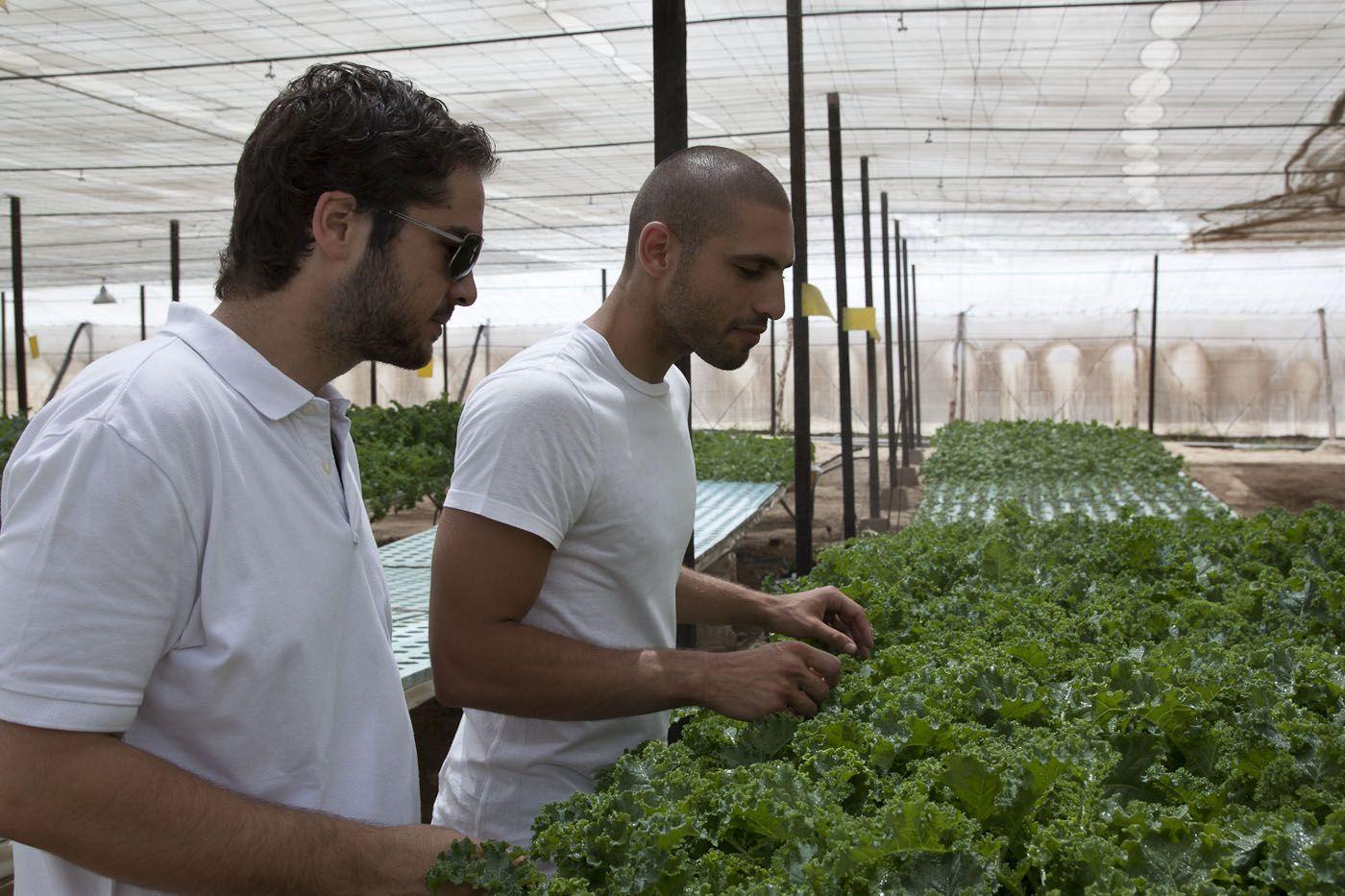 Egy Hydro partners Adel El Shentenamy (l) and Amr Bassiouny (r)