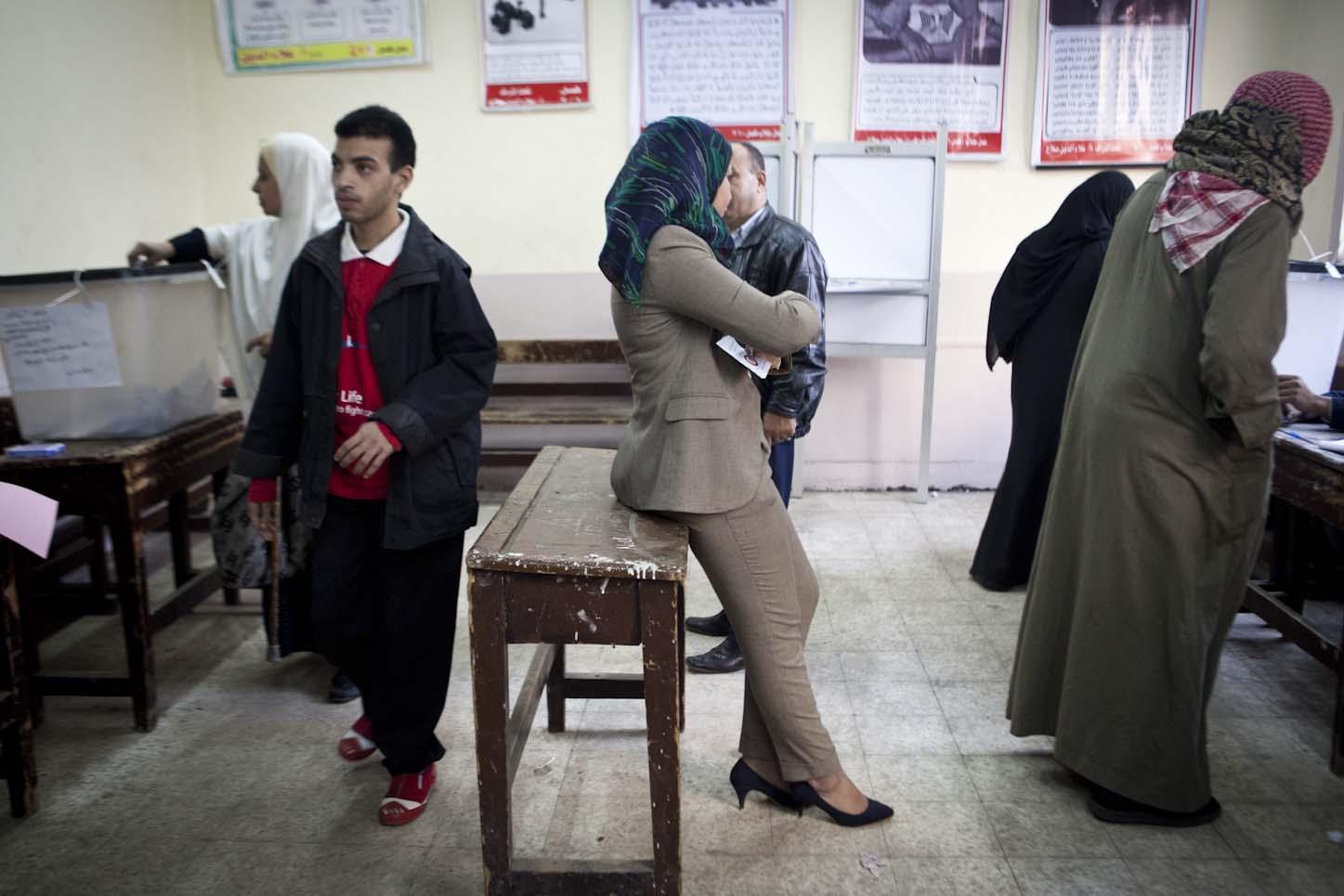 Polling station in Mounira_07