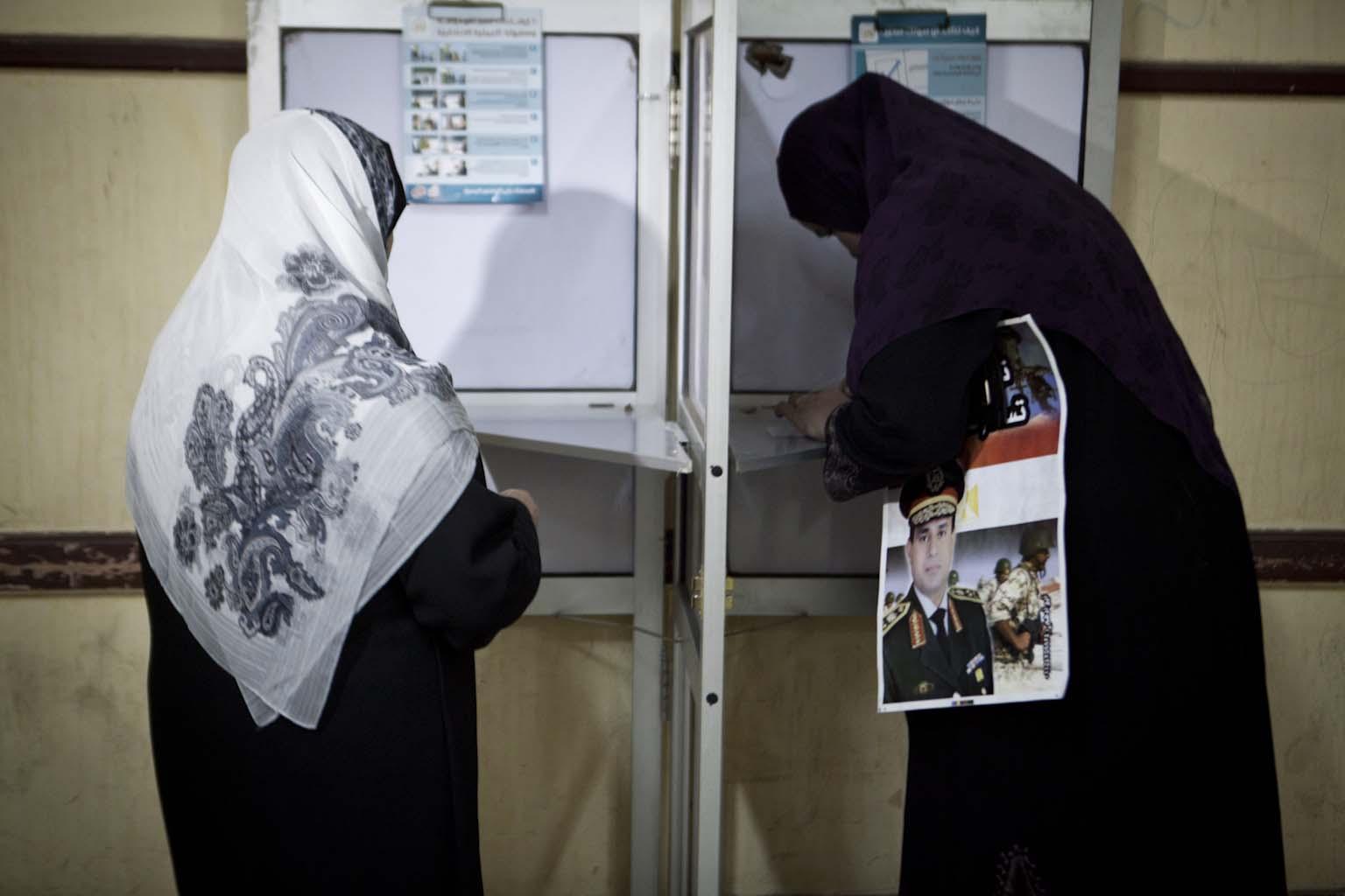 Polling station on Maadi Corniche_09