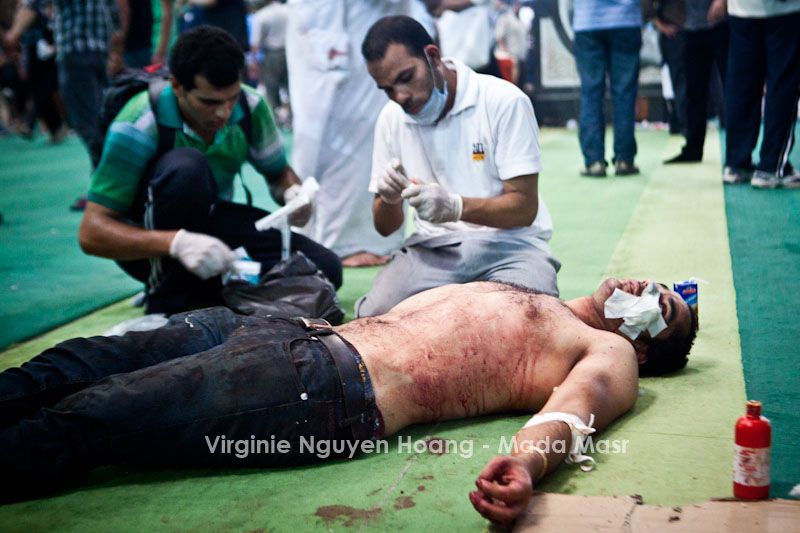 Ramses violence on August 16