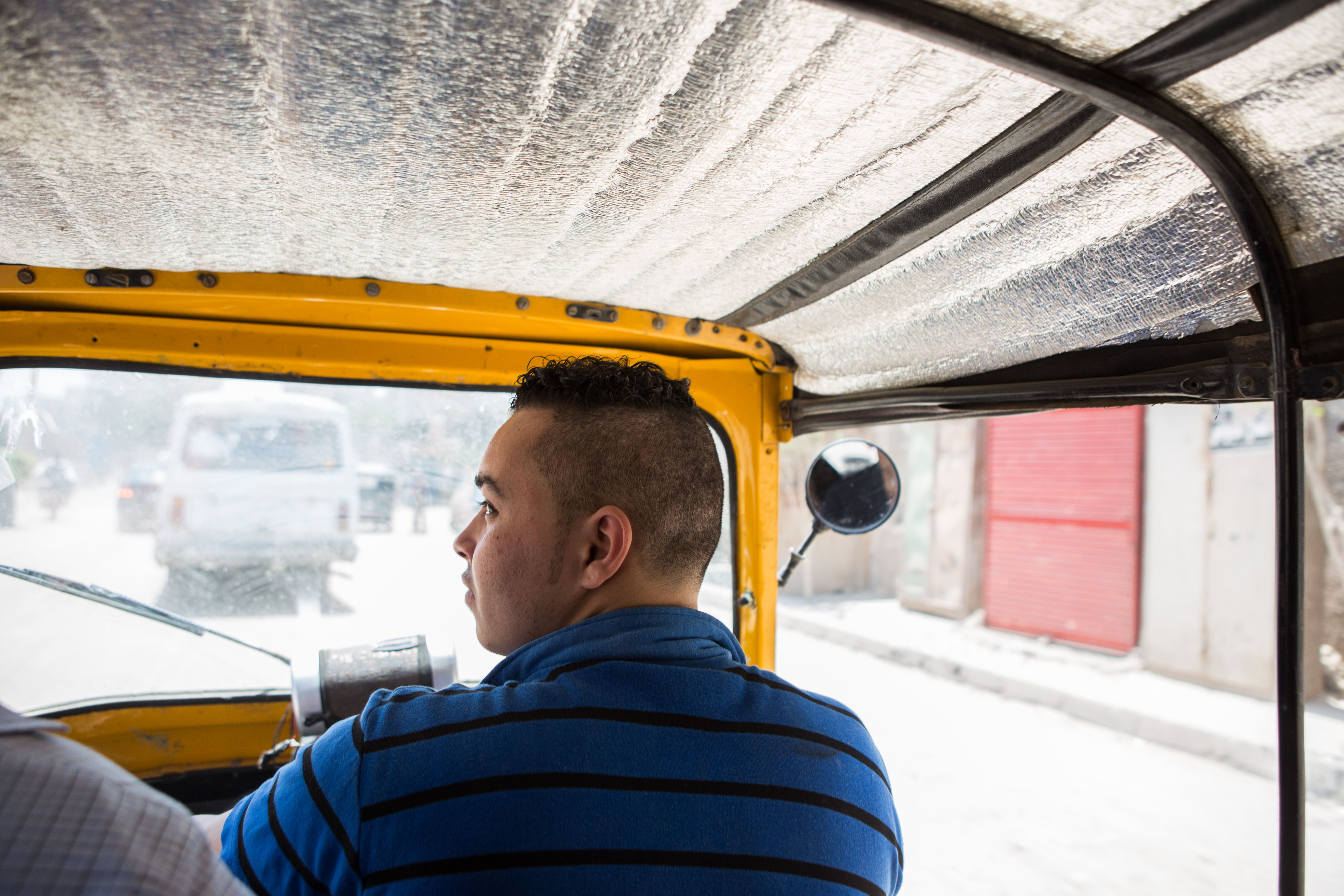 Tuk tuks are a preferred mode of transport in districts with narrow streets, but some blame them for exacerbating Cairo's traffic problems. May 1, 2014