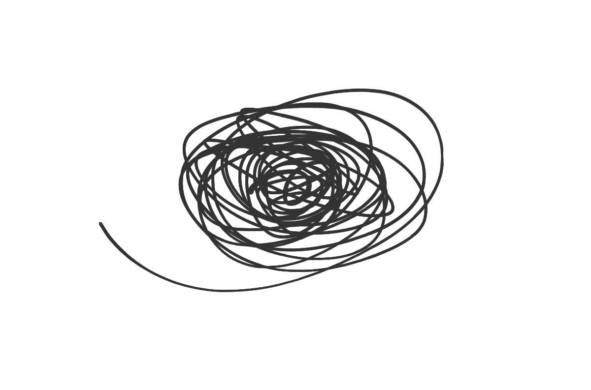 Lotus scribble