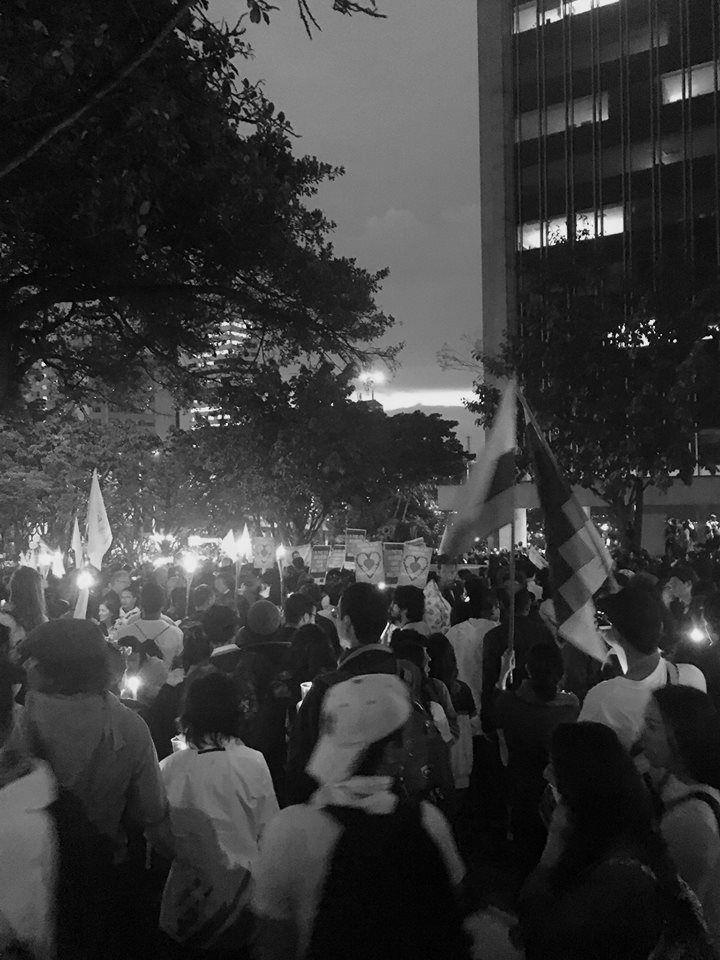 Marcha por la Paz (Carrera 7, Bogotá, 5 October 2016) Natalia Angel