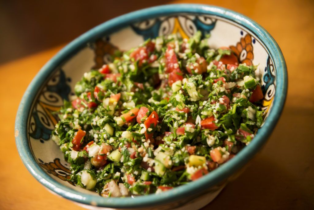 Tabbouleh from The Syrian Kitchen