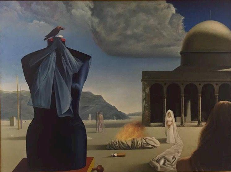 Mohamed Riad Saied, Dreams at Al-Aqsa Mosque (1973)