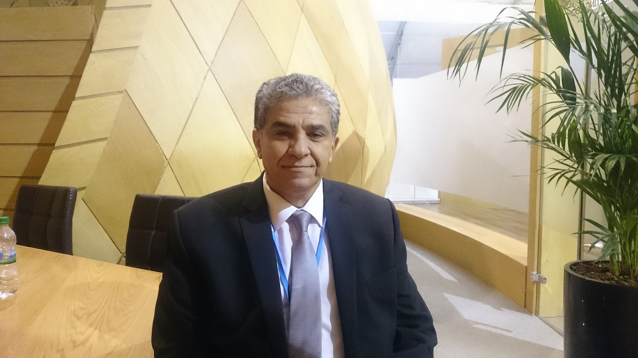 Egypt's Environment Minister Khaled Fahmy