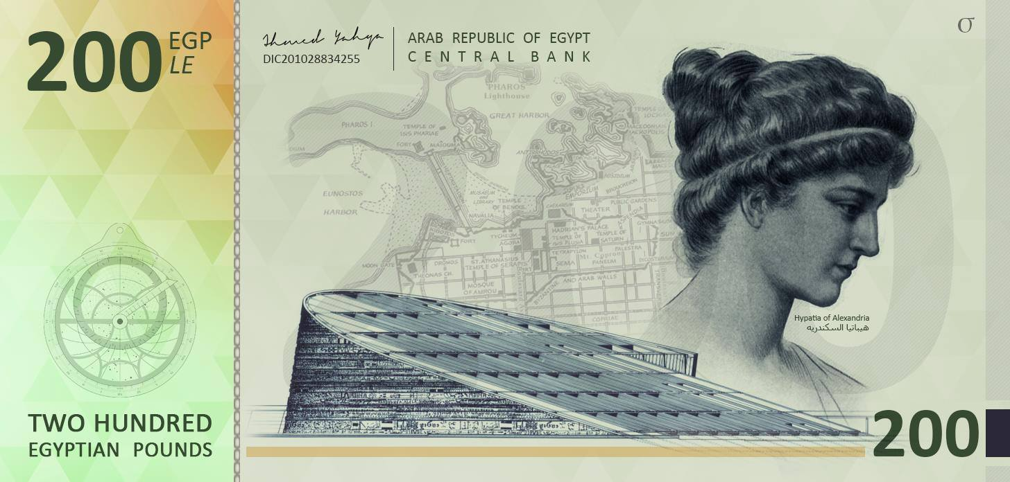 LE200 by Ahmed Yahya, featuring Hypatia of Alexandria