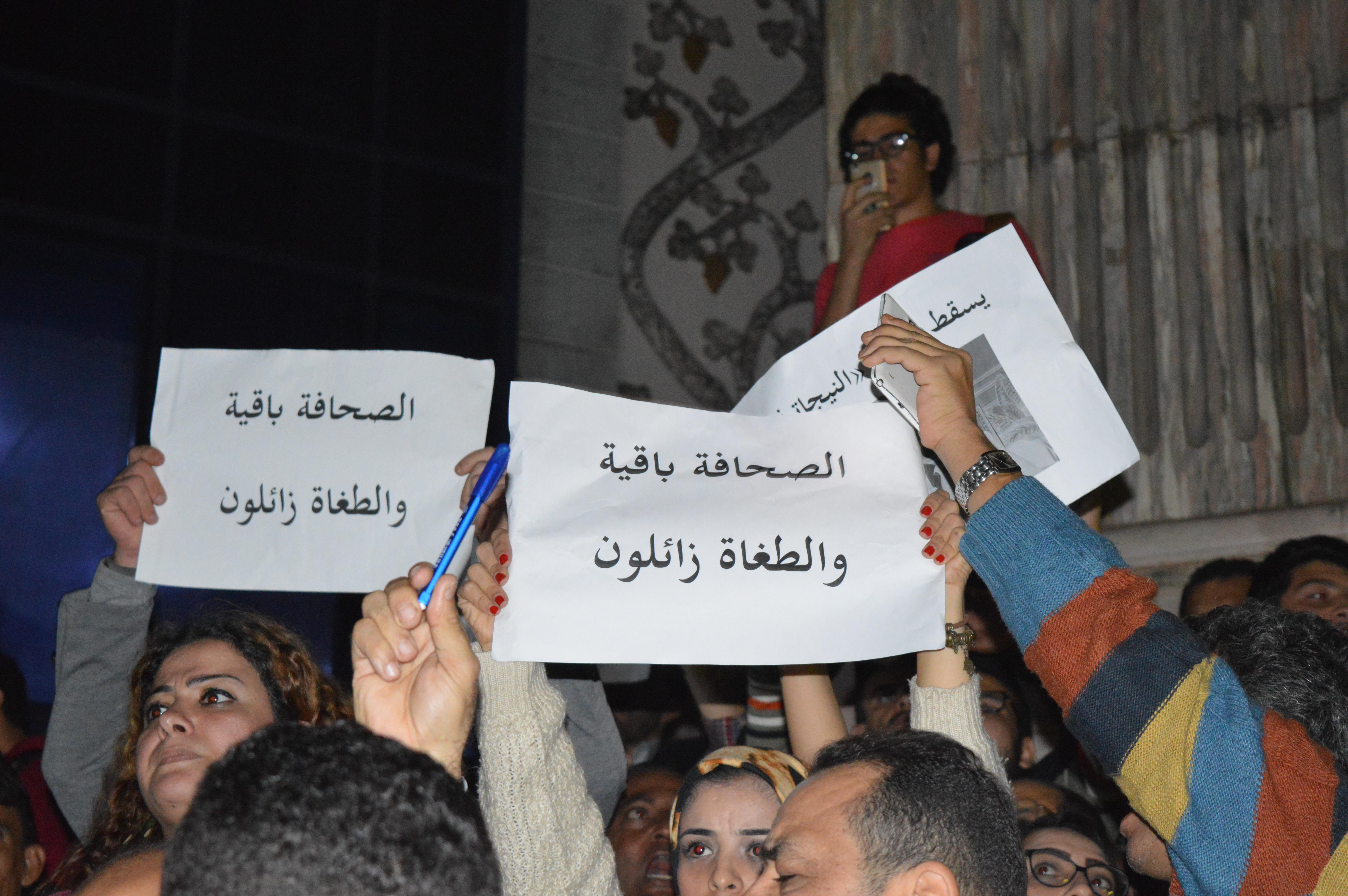 رئيسان ونقيبان و21 عامًا غيروا علاقة الدولة بـ«الصحفيين»   مدى مصر