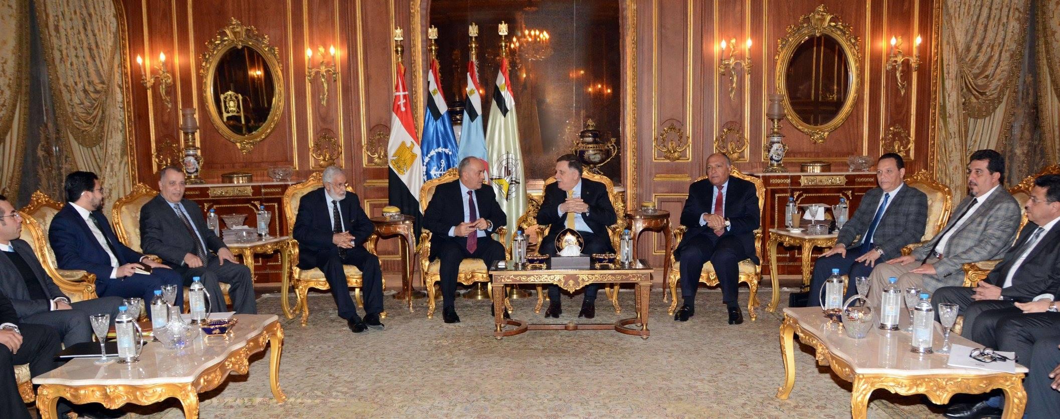 كواليس المحاولة المصرية «نصف الناجحة» لاستضافة قمة ليبية بين «السراج» و«حفتر»   مدى مصر