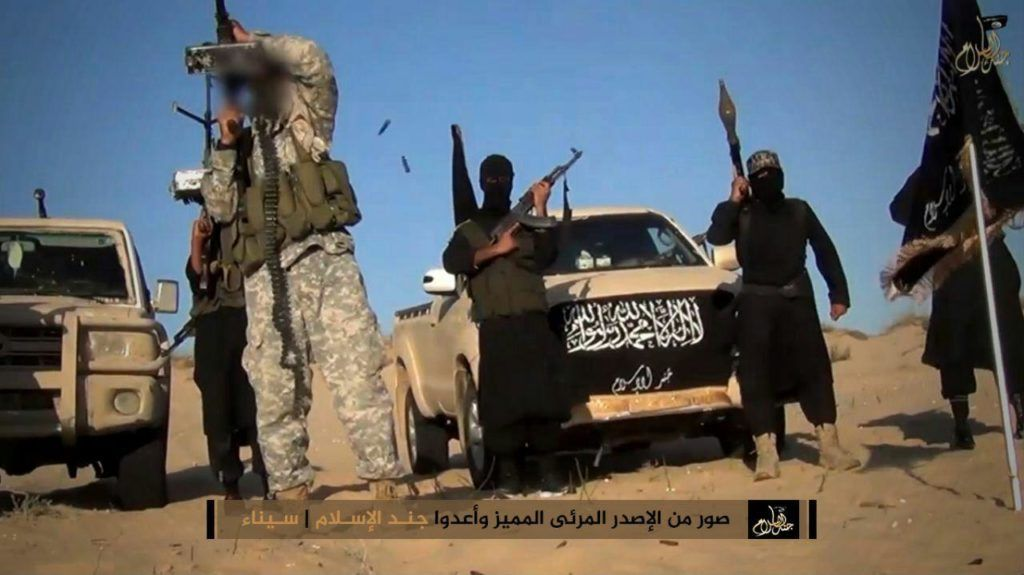 Clashes between Jund al-Islam and Province of Sinai: The