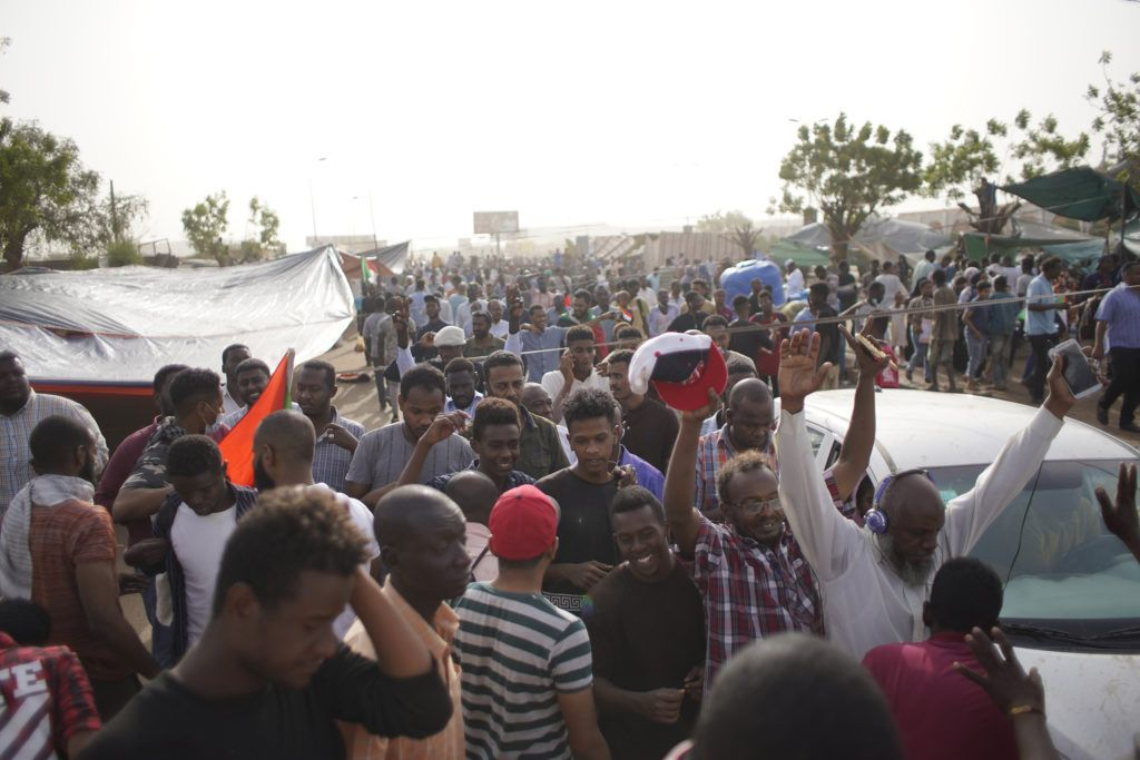 With Bashir ousted, protesters reject Sudanese military's