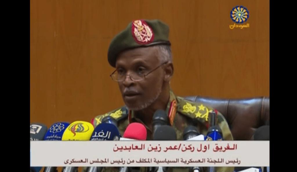 Sudan's military council: Government to be civilian except
