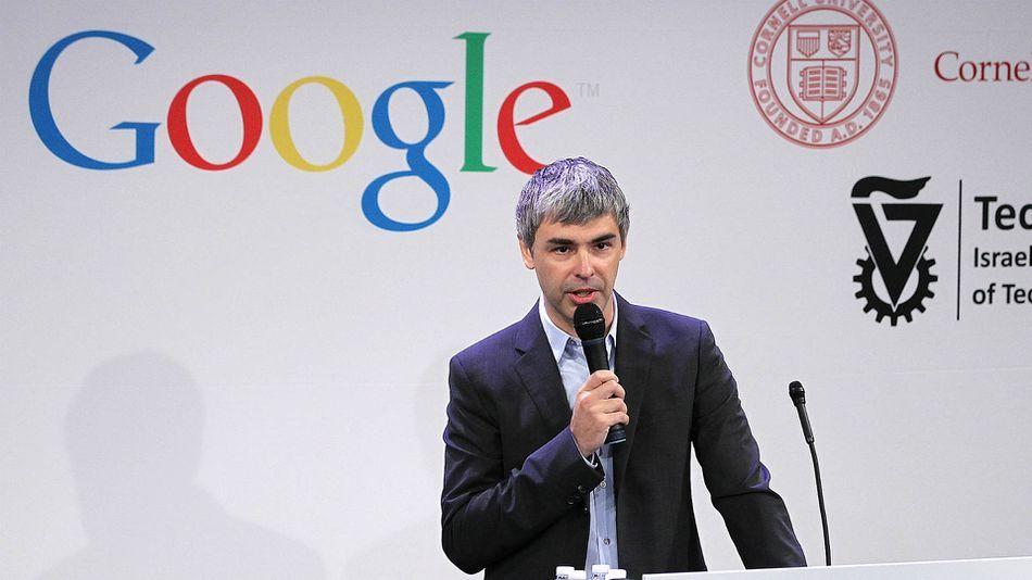 لاري بيدج، الشريك المؤسس في محرك البحث جوجل