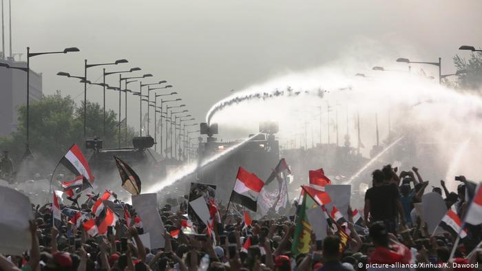 iraqi demonstration 2019 العراق